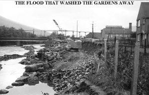 FLOOD REAR OF FLATS